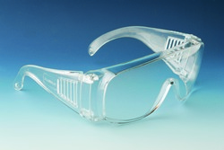 Safety Spectacle clear, ideal for factory visits, assembly line and laboratory workers,
