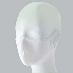 Washable face mask antibacterial, inside layer 100% polyester antibacerial 99.9%/UV resistant