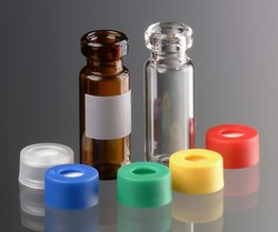 Sample Vials with Snap-on Caps