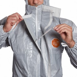Hooded protective coveralls Tychem® 6000 F grey DuPont™