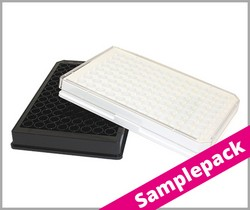 Samplepack  Microplates 96 Well in PS, µClear, med. binding Greiner Bio-One