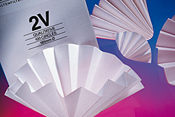 Filter Paper Folded Grade 2V, qualitative, Standard GE Whatman
